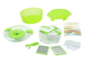 Genius Salat Chef Junior Set 9-tlg.