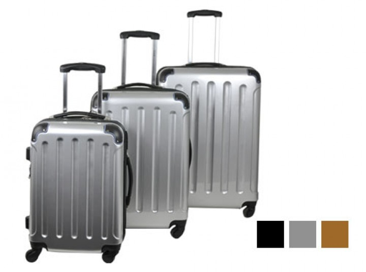 Planet Reisekoffer-Set, 3-teilig