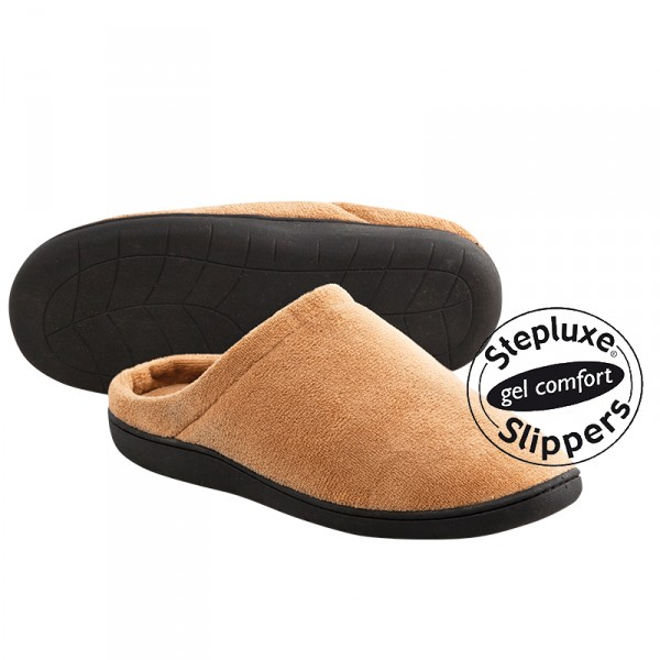 Stepluxe Slippers, Hausschuhe mit Gelsohle