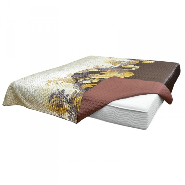"""Tagesdecke """"Latte"""" 3D, 100 % Polyester"""